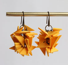 Yellow Medium Extremely Light Earrings