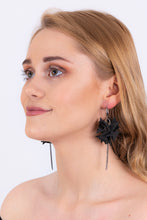 Extremely Light Black Earrings