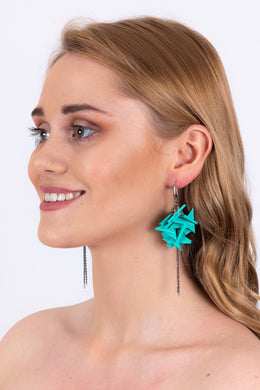 Extremely Light Turquoise Earrings