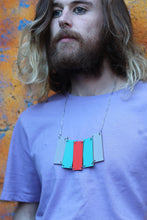 Xylophone Necklace Painted Wood