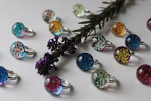 Three Dried Flower Rings (Mixed)