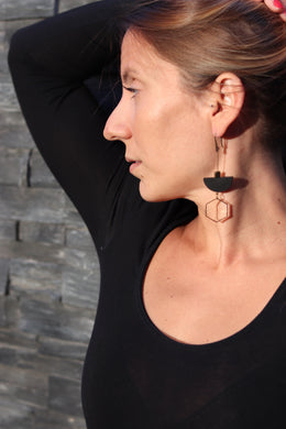 Long & Geometric Earrings I