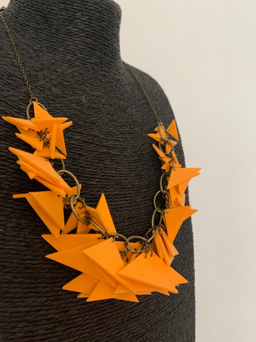 New Original Soft Necklace (Dark Yellow)
