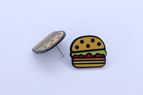 WOW GREAT BURGER STUDS