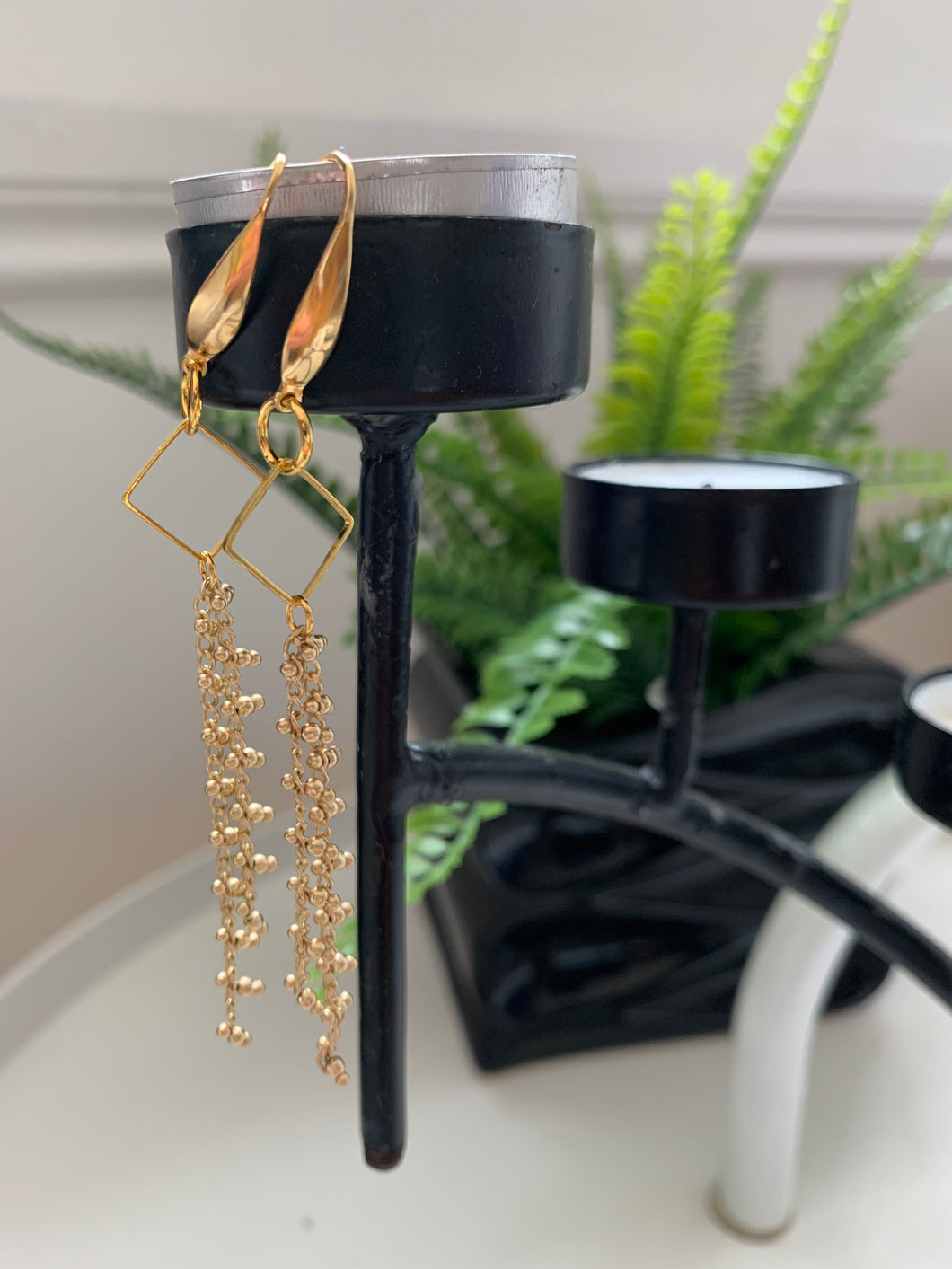 Golden drops Earrings