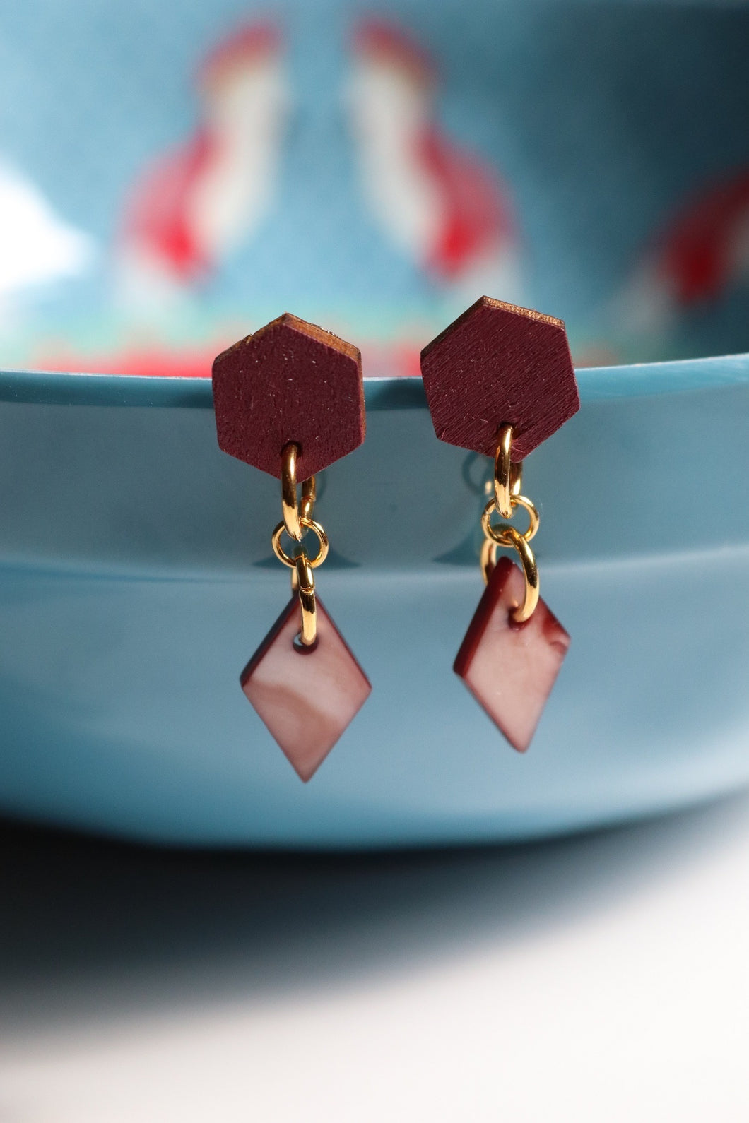 Plum Juice Earrings