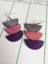Purples Earrings