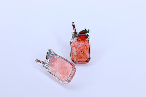 JAR STRAWBERRY COCKTAIL STUDS