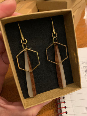 The tower Earrings