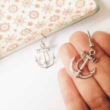 Anchor Earrings Pin Up Style