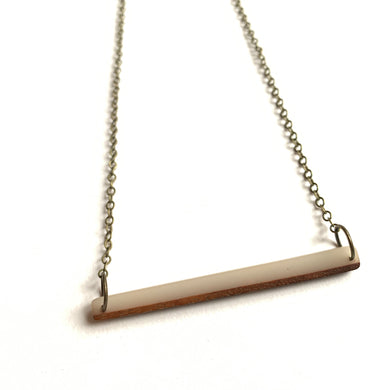 Long Minimalistic Necklace