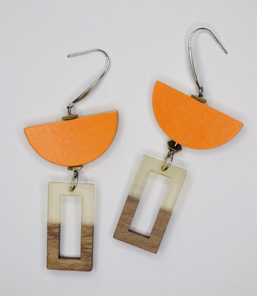 Retro lover Sage Earrings