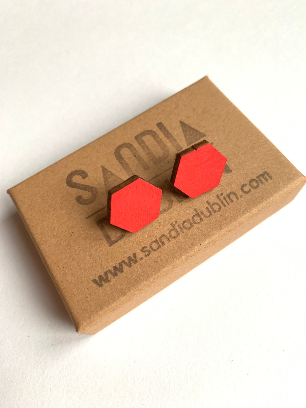 Hexagon Wood Studs