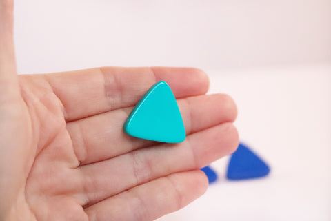 Triangle Stud Earrings (5 Colours)