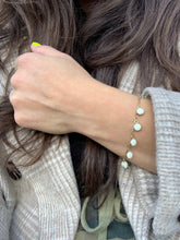 Vintage Inspired Bracelet White Paris I