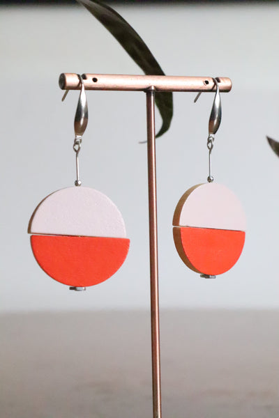 JUXTAPOSED EARRINGS 3 COLOURS