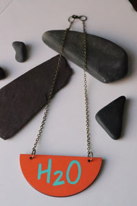 Water Necklace H2O