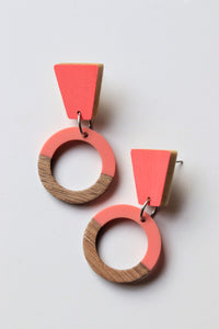 Loving Pink Dangle Earrings