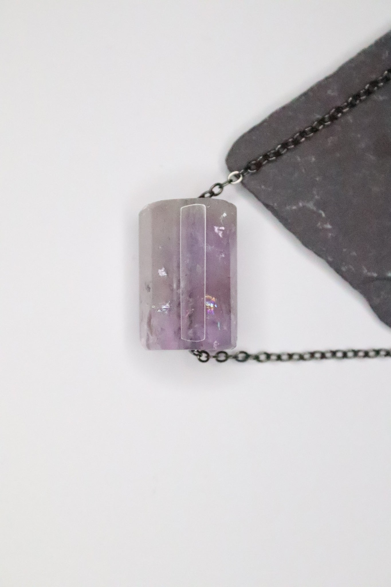 My Purple Quartz Necklace