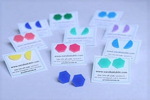 Geometric Stud Earrings 7 Colours