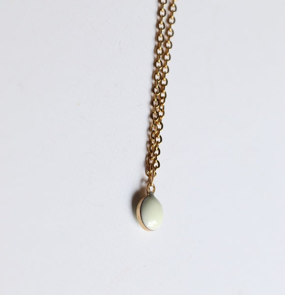 Boldly Simple White Pendant