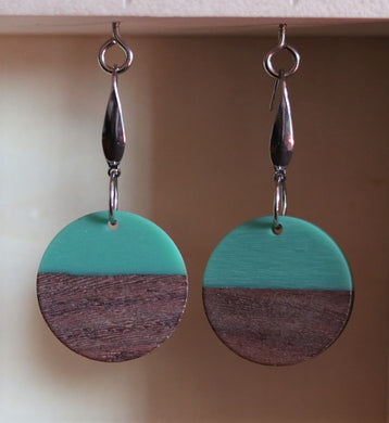 Turquoise Sunset Earrings