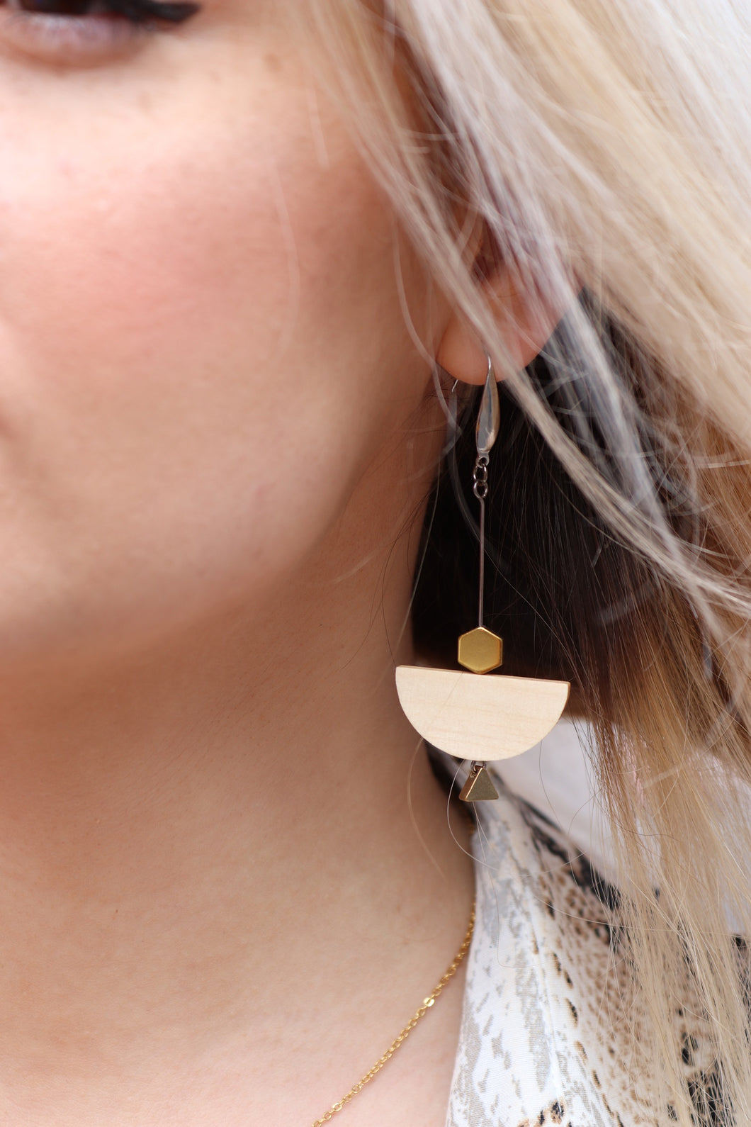 Geometric and Bare Earrings