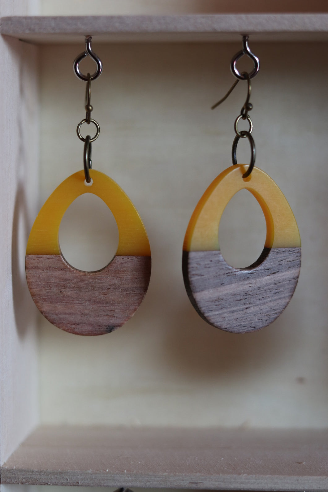 Yellow Love Earrings