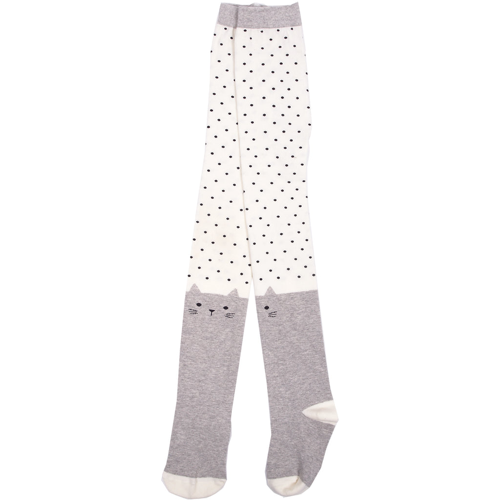 Spotty Cat Tights