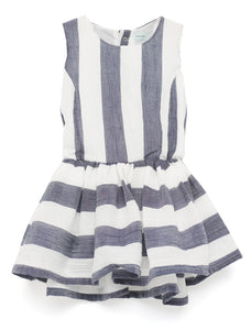 Antonine Striped Dress