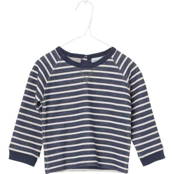 Andras Striped Double Layer Top