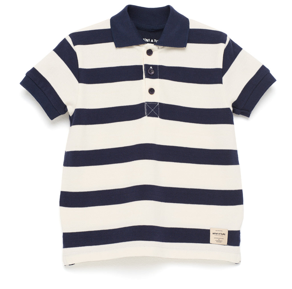 Nikolaj Striped Polo Shirt