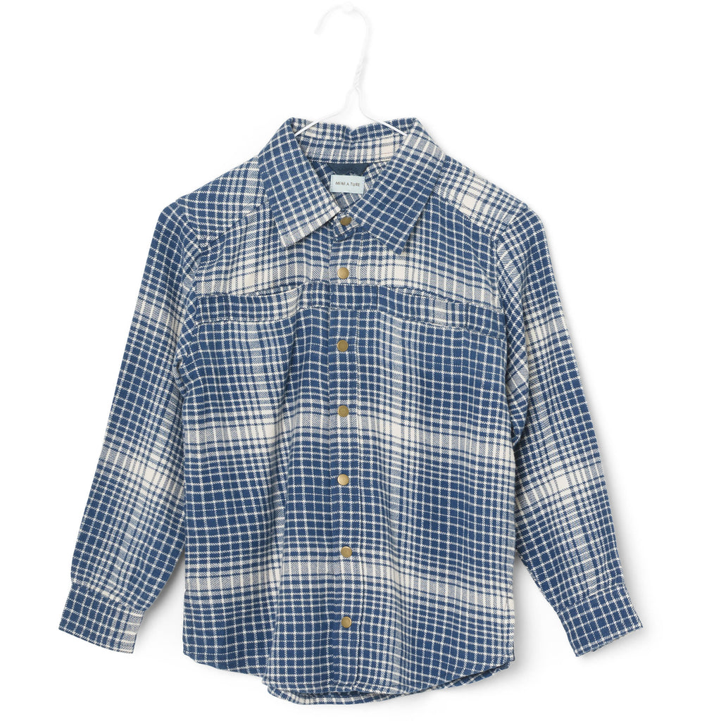 James Check Shirt