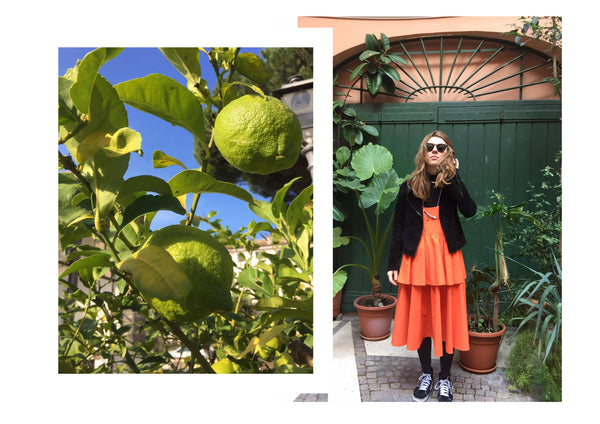 d.effect dress with Mellow jewellery