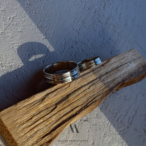 Custom made wedding rings CMW/23