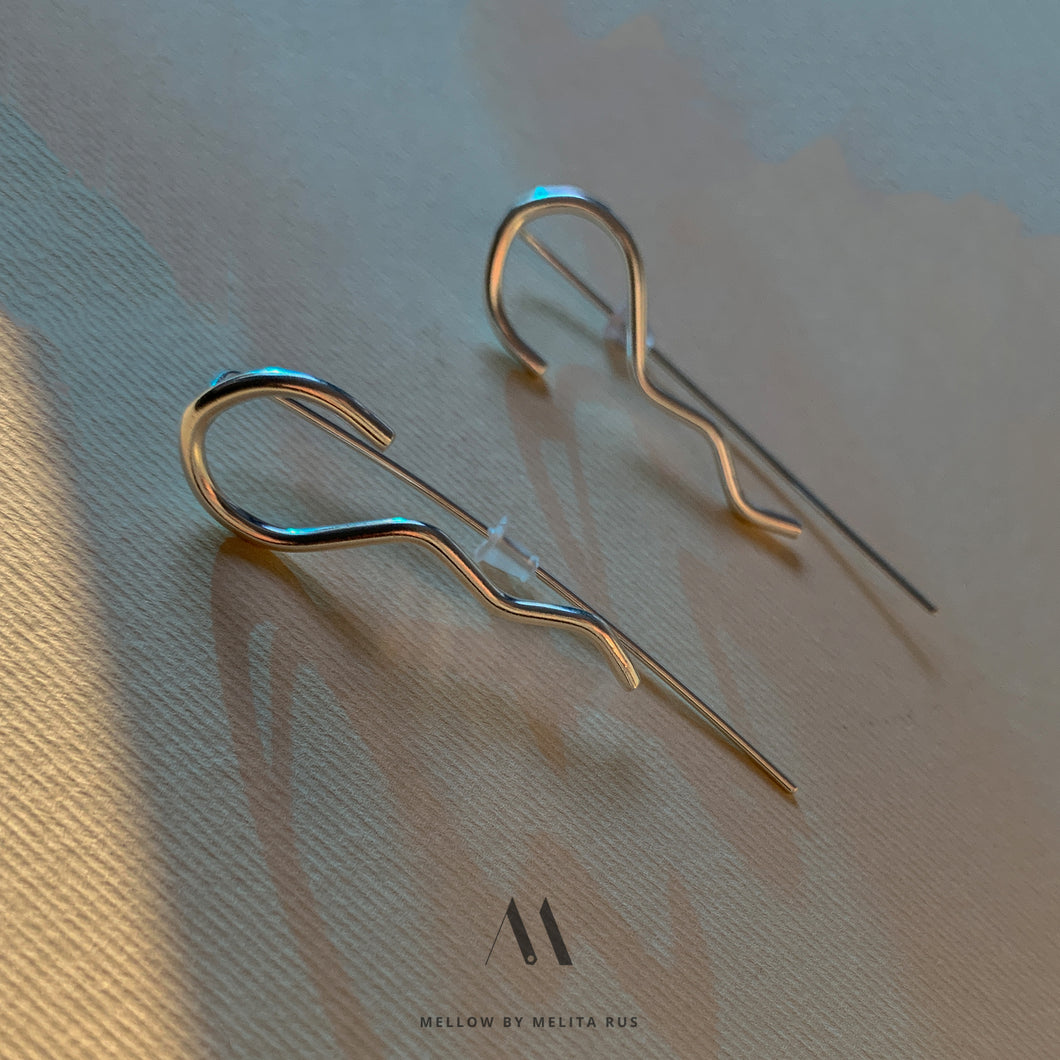 Sterling silver Statement Earrings E3/Si18