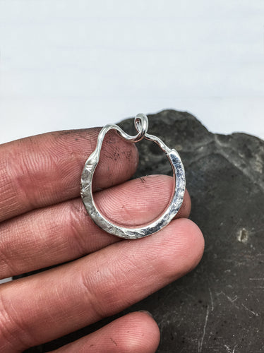 contemporary sterling silver ring