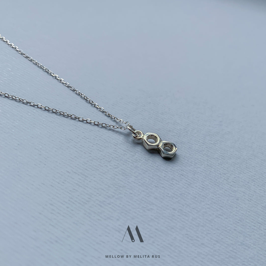 Sterling silver necklace N4/SiE04