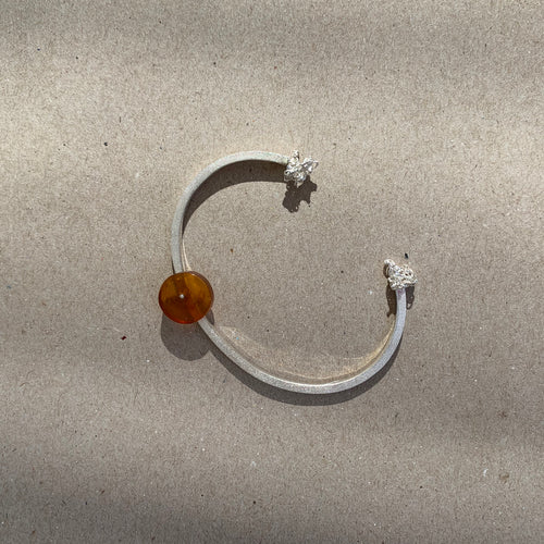 Baltic Amber sterling silver bracelet B2/A01
