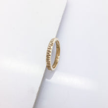 Custom made yellow gold ring CMR5/07