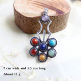 7 Chakra Stones Healing Pendant Necklaces. Many designs.