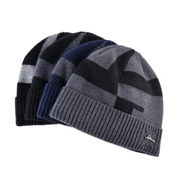 BestBuySale Skullies & Beanies Men's Winter Fashion Knitted Beanie - Black,Gray,Blue