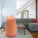 BestBuySale Humidifier Ultrasonic Aromatherapy Diffuser/Air Humidifier  - Light/Dark Wood Grain