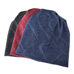 BestOnlineMen's Fashion Beanie Hat - Blue,Red,Black