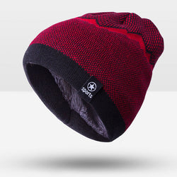 BestOnlineWarm Fashion Winter Hat For Men  - Black,Brown,Gray,Navy,Red