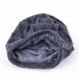 BestBuySale Skullies & Beanies Knitted Striped Skullies & Beanies Winter Hats For Men - Black,Brown,Blue,Gray,Khaki,Red