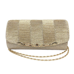 BestBuySale Clutch Bags Shiny Women's Clutch Bag - Black,Blue,Brown,Gold,Gray,Red,Silver