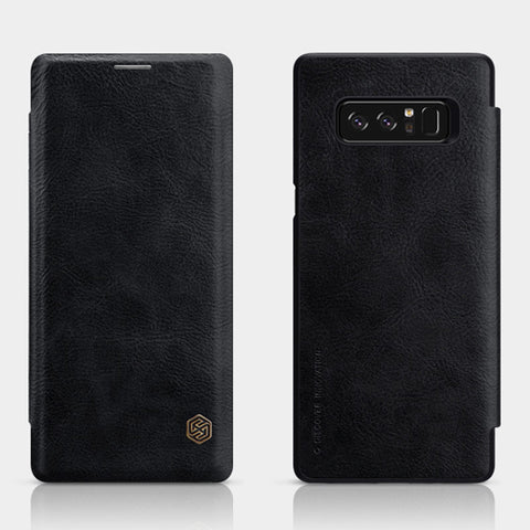 BestOnlineLeather Case Wallet Flip Cover Phone Case For Samsung Galaxy Note 8