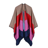 BestOnlineFashion Double Side Women's Winter Poncho Scarf - 8 Colors