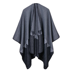 BestBuySale Poncho Scarves Women's Winter solid Color Fashion Poncho Scarf - 6 Colors